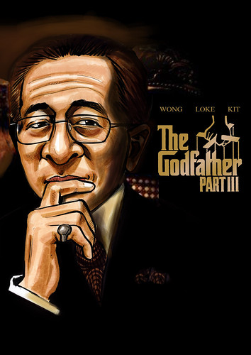 GodFather III poster illustration for UIP edited A3