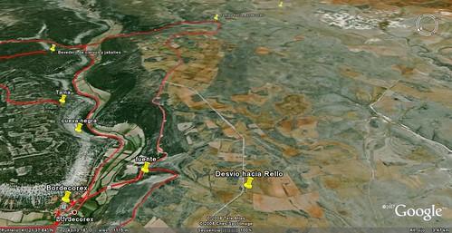 Ruta circular desde Bordecorex por valle y meseta