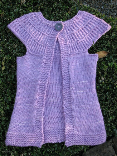 Totally Kiki, Shalom Cardigan, Malabrigo Worsted, Orchid