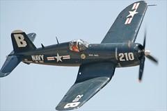 F4U Corsair (mvonraesfeld) Tags: classic museum airplane fighter aircraft aviation wwii navy historic explore corsair usn warbird chino planesoffame f4u