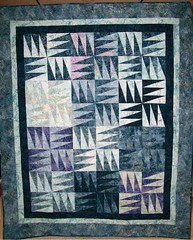 Icicles (Piecemeal Quilts) Tags: quilt icicles paperpieced foundationpieced freezerpaperpieced