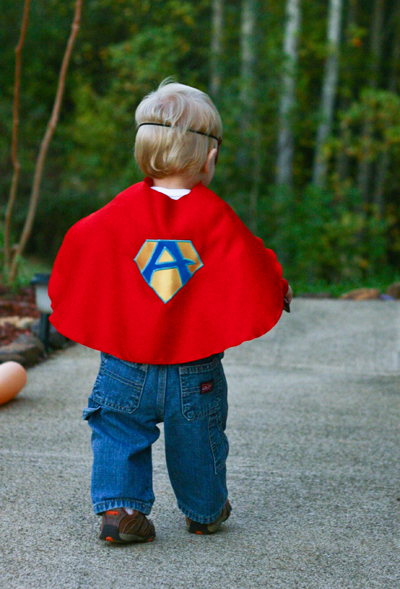 Every hero needs a cape