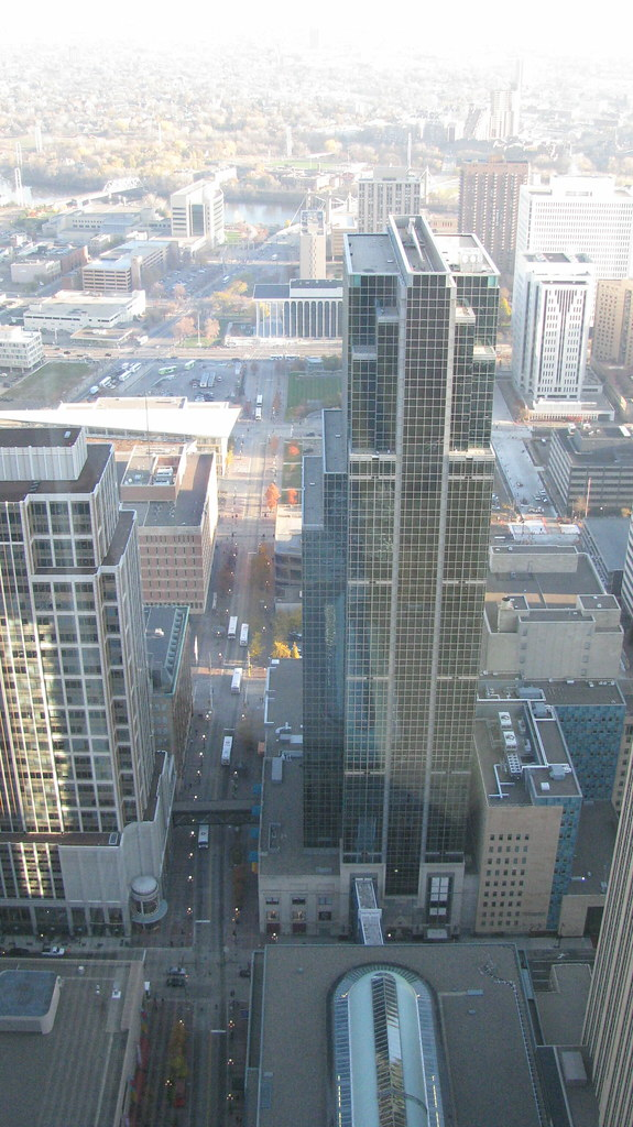 Photograph of Minneapolis Skyscrapers