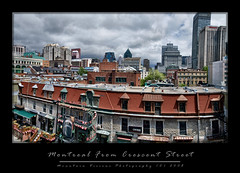 Montreal From Crescent Street (Mountain Visions) Tags: canada pentax montreal may 2008 beerfest brutopia hurleys crescentstreet ruecrescent k20d bierefest 21mmdalimited pentaxsmcpda21mmf32al pentaxsmcpda35mmf28