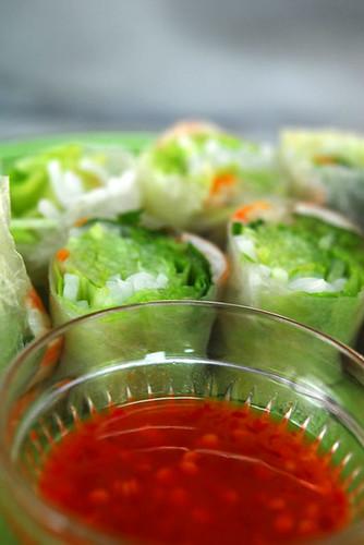 Vietnamese Rice Paper roll - DSC_6192