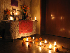 Ofrenda de muertos 2008