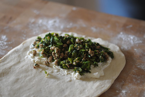 Distribute Calzone Ingredients Evenly