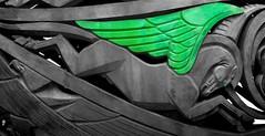 Greenwing Pegasus (mysunsin) Tags: pegasus gargoyle grotesque