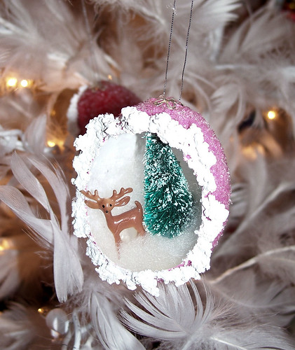 Pink Egg Ornament
