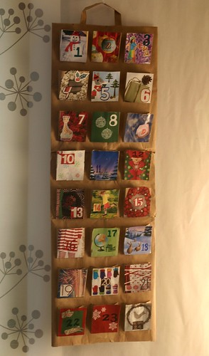 recycle bin advent calendar
