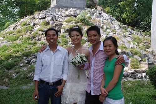 Khai, Sam and Nghia