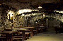 Traditional tavern (kkitsos) Tags: park city castle monument public lamp museum architecture night lights europe hungary traditional budapest architectural nighttime nightlight tavern baroque buda constructional