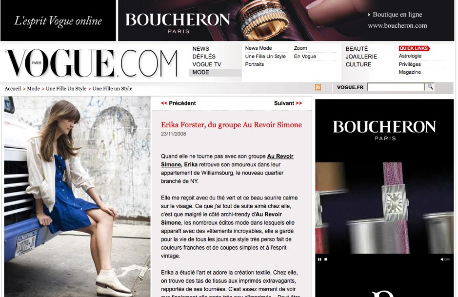 Vogue par Garance Doré