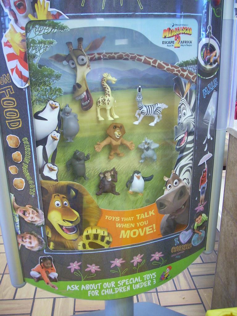 Madagascar 2 toys