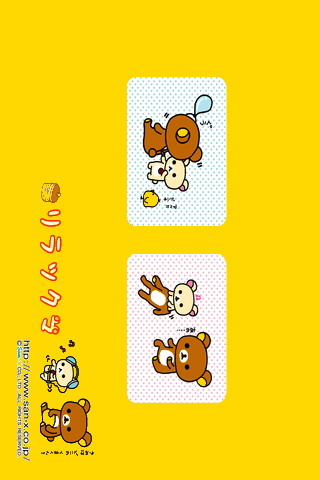 iPhone / iPod touch Wallpaper rilakkuma14
