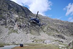 Trek - GR10 - helicoptere