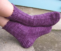 Water Cube Socks