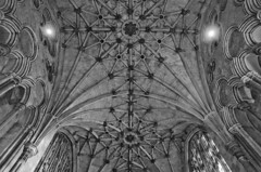 Cathedral: Vaulting in Lady Chapel (Dmitry Shakin) Tags: uk england church lady cathedral chapel vault winchester middleages vaulting