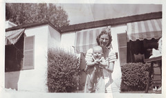 grandma mayna and uncle carroll, 1940 (deflam) Tags: grandma arizona phoenix vintage grandmother uncle 1940 1940s carroll familyphotos gilmer mayna