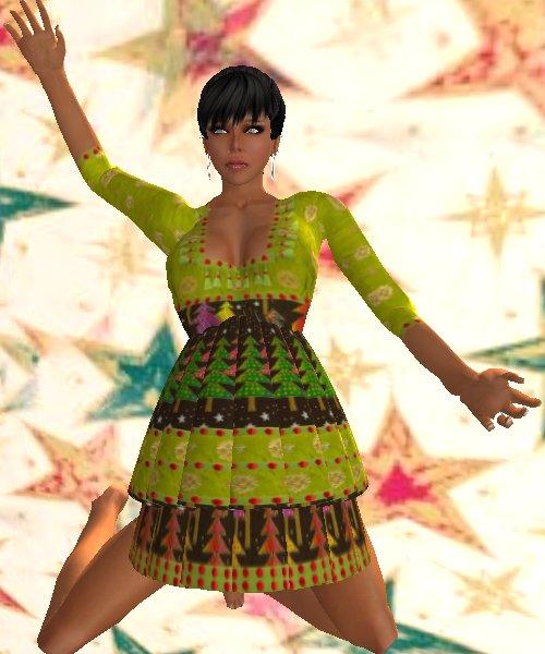 Sari's Merry Berry Dress