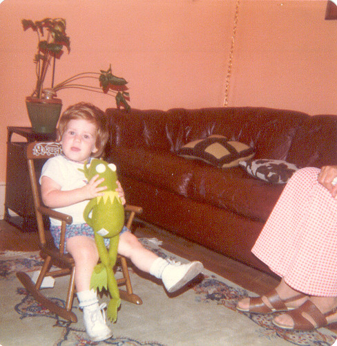 Baby moi and Kermit