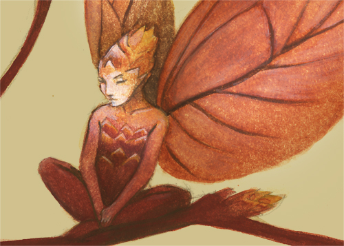Leaf Fairy - Closeup