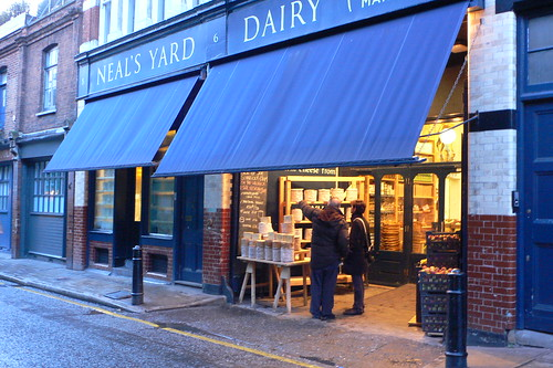 Neals Yard Dairy at Borough Market by heatheronhertravels, on Flickr