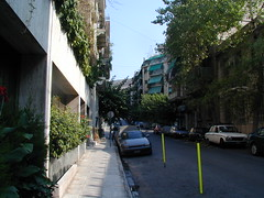 A street near the Acropolis