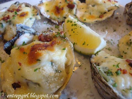 Las Paellas oysters