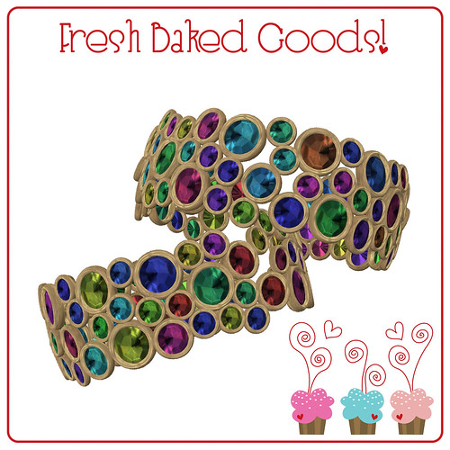 ~*FBG*~ Bright Colored Sugar Thumbprint Cookie Cuffs