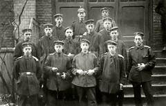 Boys of War - Köln 1917 (✠ drakegoodman ✠) Tags: soldier postcard young teenager soldiers ww1 greatwar regiment landwehr prussian pickelhaube infantrymen feldpost feldbluse