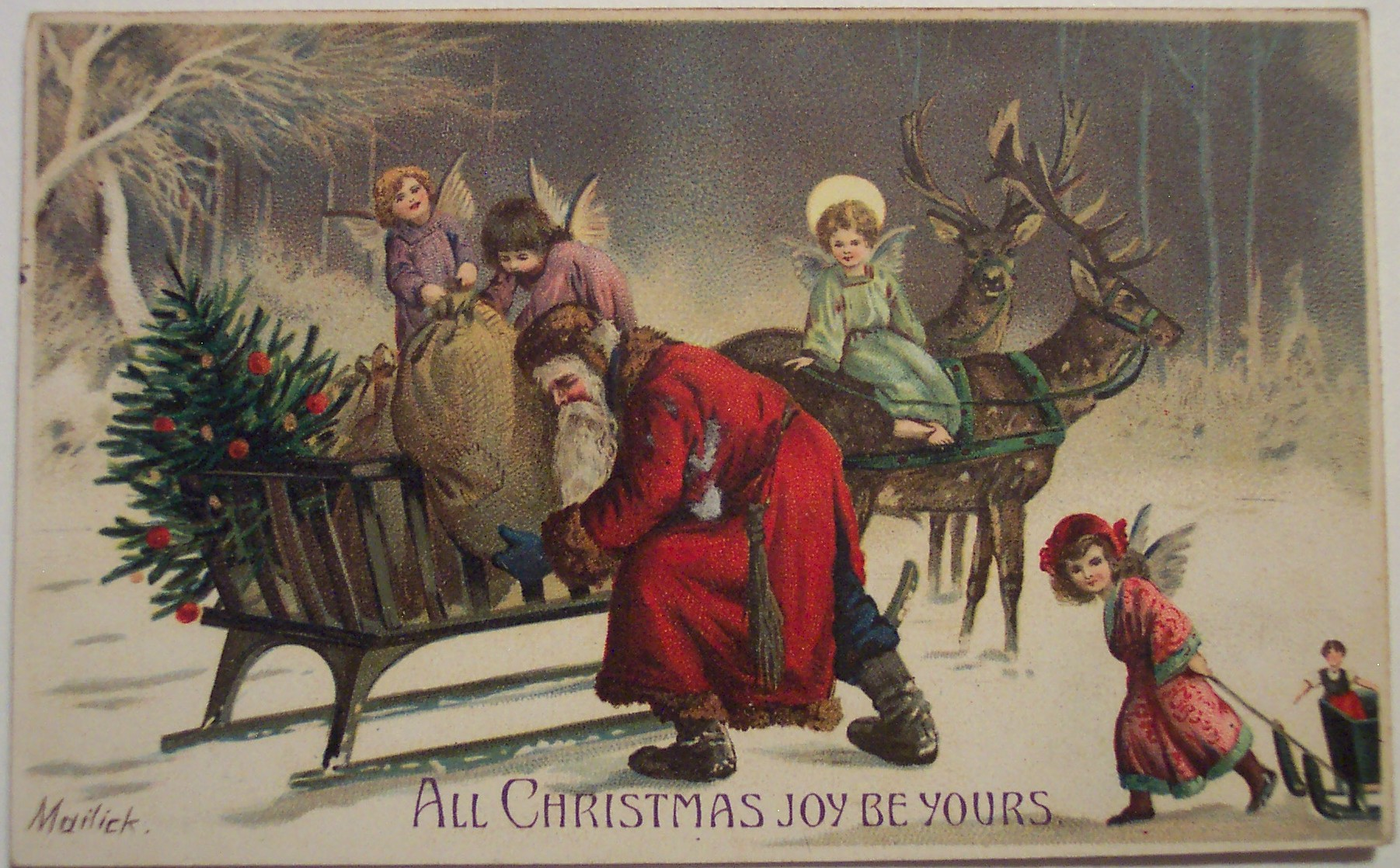 daily aesthetic fix vintage christmas - Vintage Christmas Wallpaper