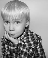 Elvar Orri my son (Vrexsjon) Tags: bw iceland eyes elvar