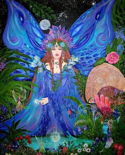 Fairy Magic by Christine von Lossberg