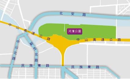 你拍攝的 dajiaparkmap。