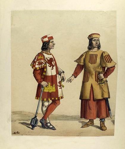 004a-Heraldo de Castilla y Heraldo de Aragon 1270