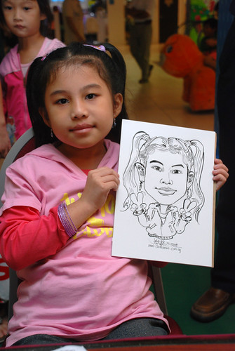 Caricature live sketching for Marina Square Day 2 - 16