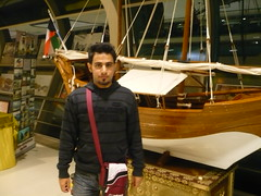 (QR726) Tags: mall boat sailing kuwait