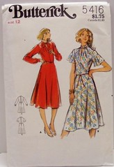 Vintage Butterick Pattern 5416 UNCUT AND FACTORY FOLDED Misses 70s Flowing Dress Size 12 Bust 34 Waist 26.5 Hip 36 (Sassy By Design) Tags: she vintage clothing mod flickr pattern dress sewing patterns womens international cast 70s etsy size12 esst dressmakingpatterns etsyvintageteam bust34 sassybydesign hip36 waist265 butterick5416 sassybydesigncom