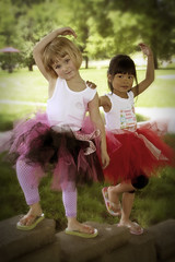 Strike a pose (Nancy Harris) Tags: friends fun happy colorful play carefree tutu