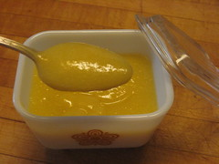 Homemade Low-Fat Lemon Curd