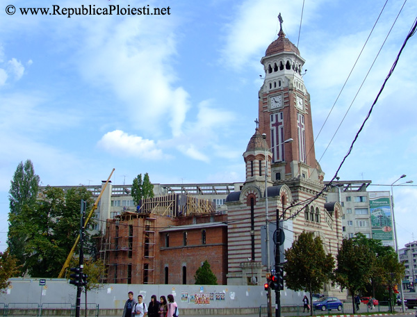 Etapa in reconstructia catedralei
