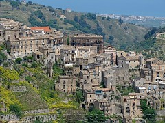 Closer view of our section of Badolato (Michelle Fabio) Tags: village medieval calabria southernitaly badolato suditalia