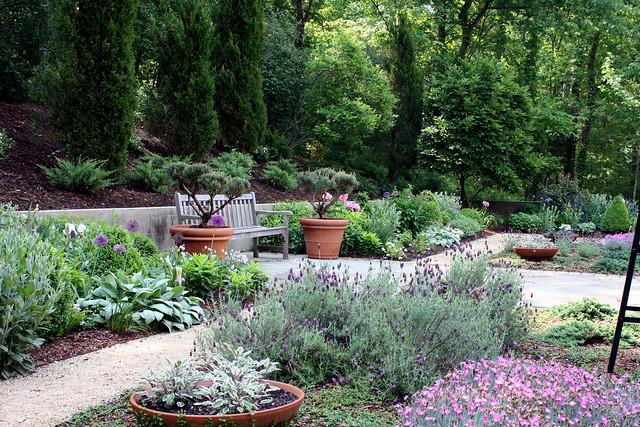Greenwood garden 3/4 view