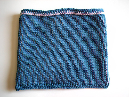 Tunisian stitch bag