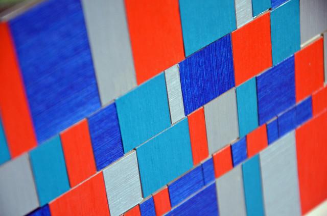 cardboard mosaic