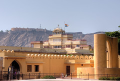 jaipur observatory jantar mantar (mariusz kluzniak) Tags: old city india town asia desert sony historic hills observatory alpha incredible fortress jaipur janitor mantra rajsthan 580 a580
