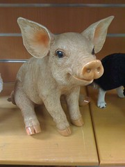 Piglet (Elysia in Wonderland) Tags: world cute statue garden pig centre piglet hayes elysia iphone