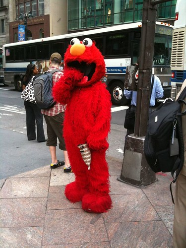 Cookie Monster on 42nd St.