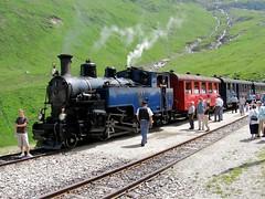 (Marcin Wichary) Tags: train steam locomotive trainride furka